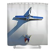 1955 Ford Shower Curtain