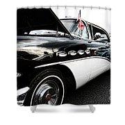 1956 Buick Century Profile 2 Shower Curtain