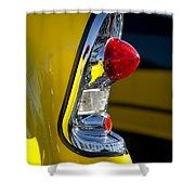 1956 Chevrolet Belair Taillight Shower Curtain