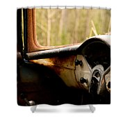 1956 Chevy Inside Shower Curtain