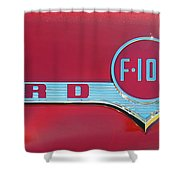 1956 Ford F100 Shower Curtain
