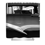 1956 Ford Fairlane Club Sedan Shower Curtain