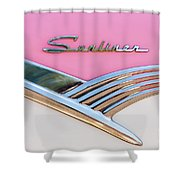 1956 Ford Fairlane Sunliner Shower Curtain