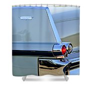 1957 Cadillac Taillight Shower Curtain