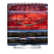 1957 Chevrolet Grille 2 Shower Curtain