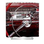 1957 Dash Shower Curtain