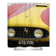1957 Ferrari 250 Gt Lwb Scaglietti Berlinetta Shower Curtain