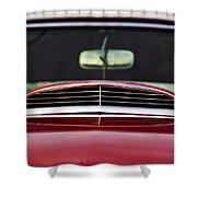 1957 Ford Thunderbird Shower Curtain