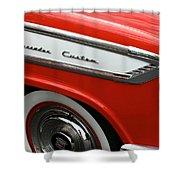 1957 Nash Ambassador Custom Shower Curtain