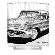 Oldsmobile Super 88 Shower Curtain