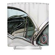 1958 Cadillac Shower Curtain