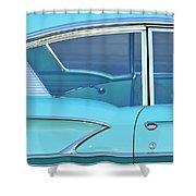 1958 Chevrolet Belair Shower Curtain