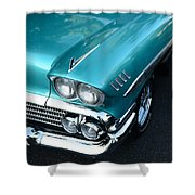 1958 Chevy Belair Front End 01 Shower Curtain