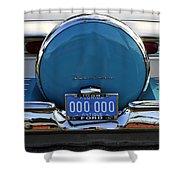 1958 Ford Fairlane Shower Curtain