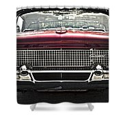 1958 Lincoln Continental Shower Curtain