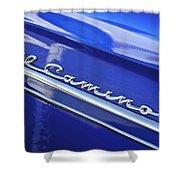 1959 Chevrolet El Camino Emblem Shower Curtain