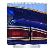 1959 Chevrolet El Camino Taillight Shower Curtain