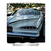 1959 Chevrolet Impala Taillight Shower Curtain
