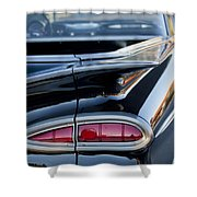 1959 Chevrolet Taillight Shower Curtain
