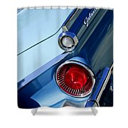 1959 Ford Skyliner Convertible Taillight Shower Curtain
