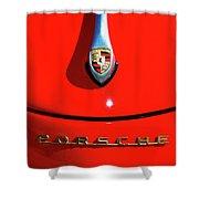 1959 Porsche Shower Curtain