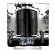 1960 Bentley Front Shower Curtain