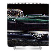 1960 Cadillac Eldorado Biarritz Convertible Shower Curtain