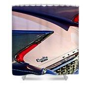 1960 Cadillac Eldorado Taillights Shower Curtain