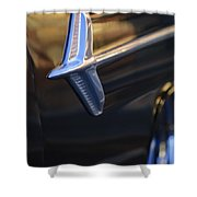 1960 Chevrolet El Camino Emblem Shower Curtain