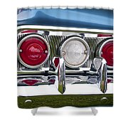1960 Chevrolet Impala Tail Light Shower Curtain