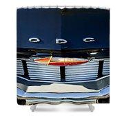1960 Dodge Grille Emblem Shower Curtain