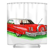 1960 Edsel Ranger Continental Kit Shower Curtain