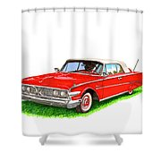 1960 Edsel Ranger Convertible Shower Curtain
