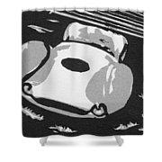 1960 Maserati T 61 Birdcage Shower Curtain