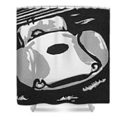1960 Maserati T 61 Birdcage  Ssm Shower Curtain