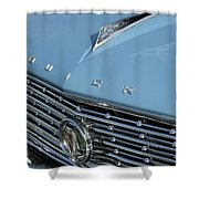 1961 Buick Grille Emblem Shower Curtain