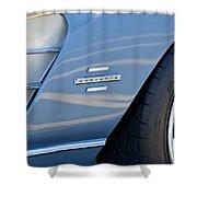 1961 Chevrolet Corvette Zob  Shower Curtain