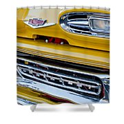 1961 Chevrolet Front End Shower Curtain
