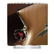 1961 Chrysler Imperial Taillight Shower Curtain