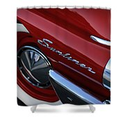 1961 Ford Galaxie Sunliner Convertible Shower Curtain