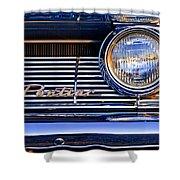1961 Pontiac Catalina Grille Emblem Shower Curtain