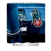 1961 Pontiac Catalina Key Ring Shower Curtain