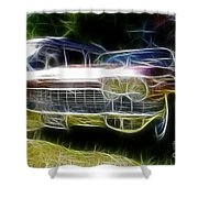 1962 Caddy Cadillac Shower Curtain