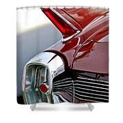 1962 Cadillac Eldorado Taillight Shower Curtain