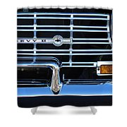 1962 Chevrolet Nova Grille Emblem Shower Curtain