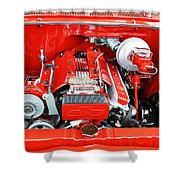 1962 Chevy Make-over Shower Curtain