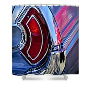 1962 Pontiac Catalina Convertible Taillight Shower Curtain