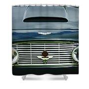 1963 Aston Martin Db4 Series V Vantage Gt Grille Shower Curtain by Jill Reger