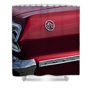 1963 Chevrolet Impala Ss Taillight Shower Curtain