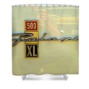 1963 Ford Galaxie Shower Curtain